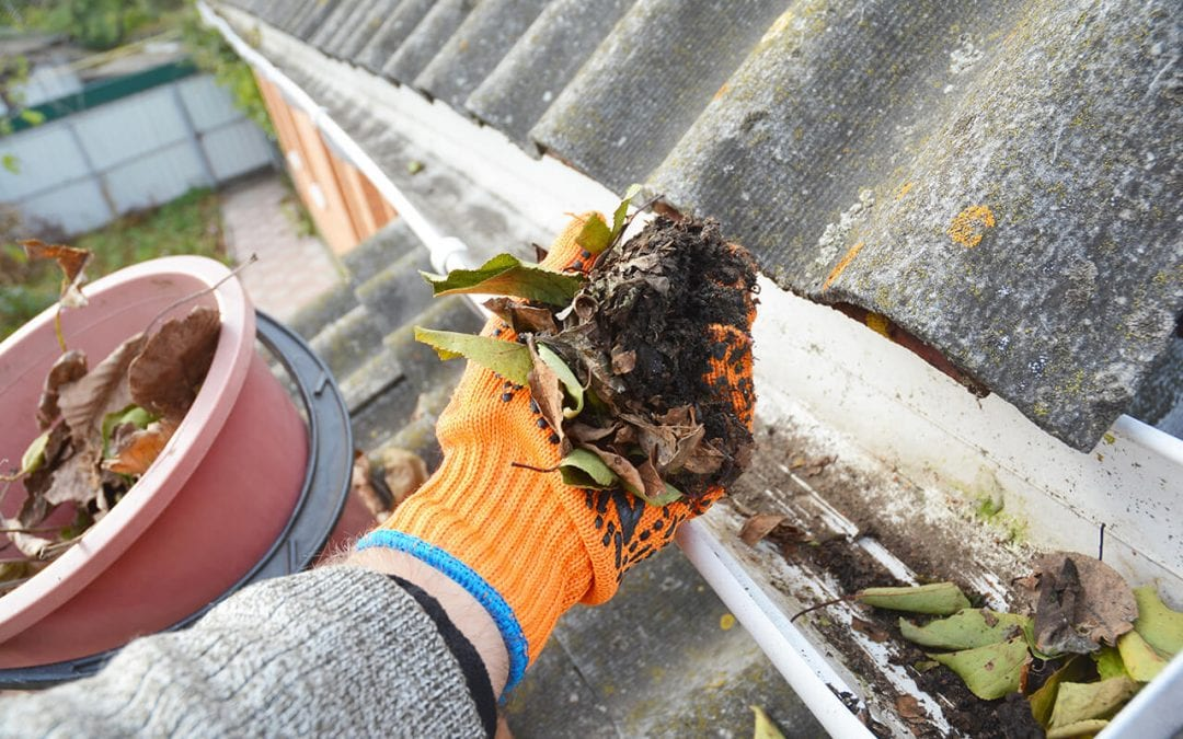 property maintenance means keeping gutters clean